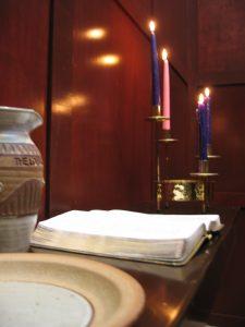Meditation Chapel Candles