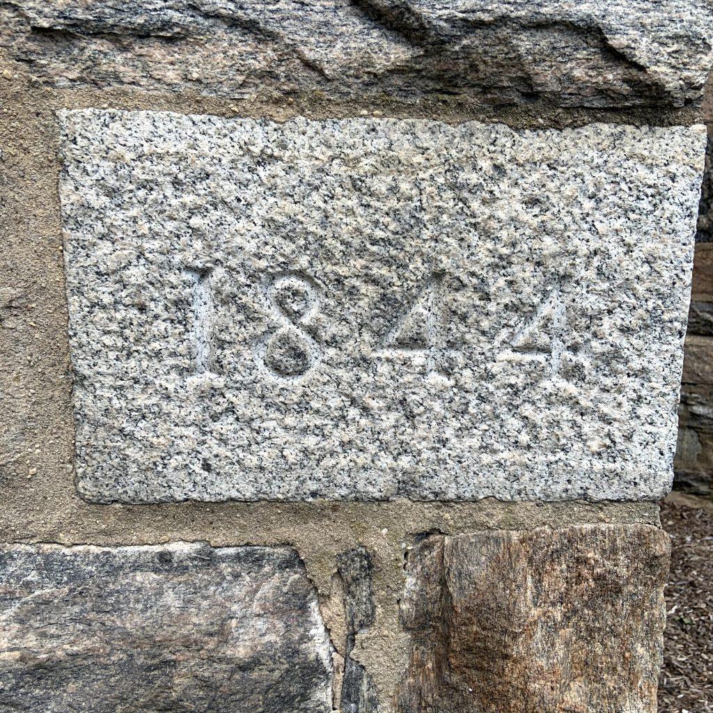 1844 Govans Church Cornerstone