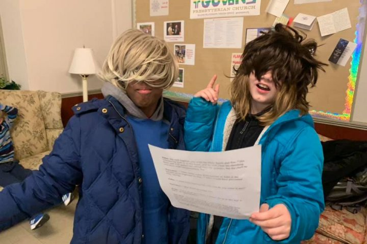 2020 Youth Group Scripture Reenactment