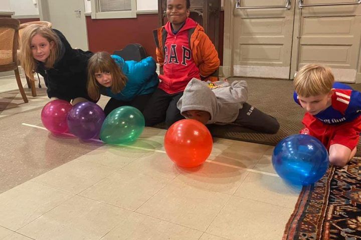 2020 Youth Group Balloon Game