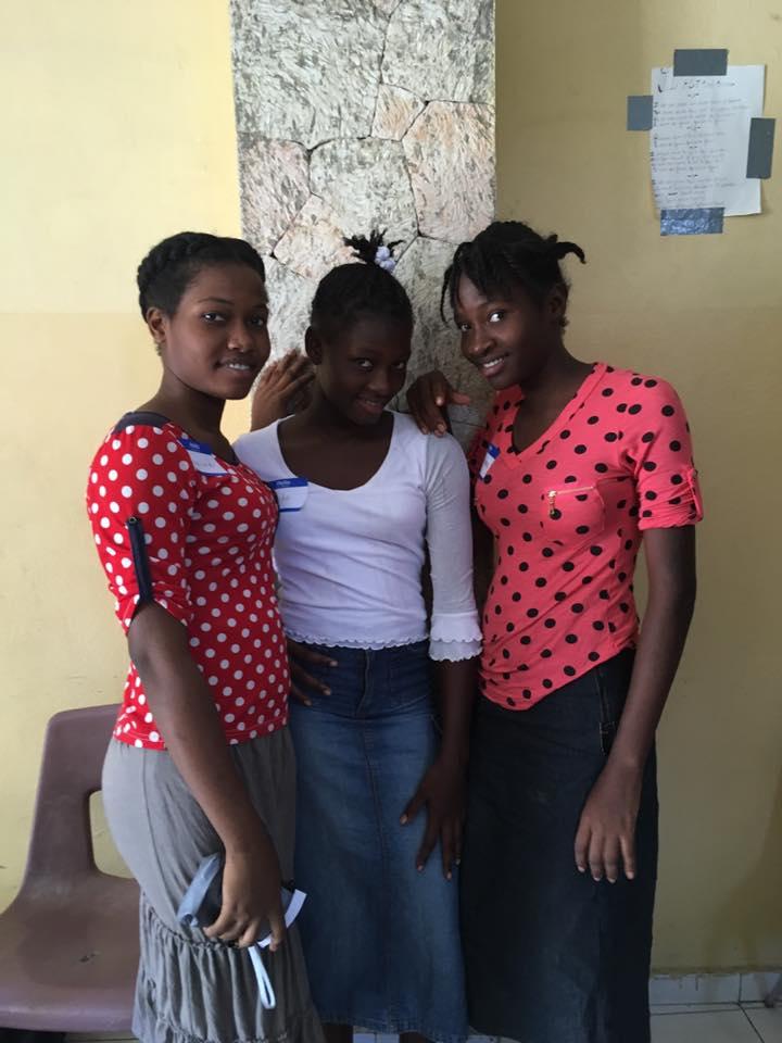 Girls at Kay Papa Nou Orphanage in Haiti